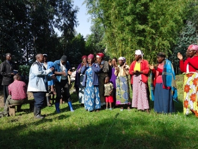 Dufatanye Commercial Producer Group access Kigali Markets through Village Business Forums